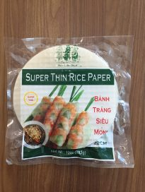 Super thin rice paper 22cm