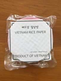 BEETROOT RICE PAPER