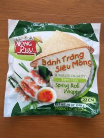 spring roll wrapper – super thin