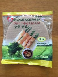 BROWN RICE PAPER
