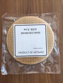 Brown rice paper 16cm