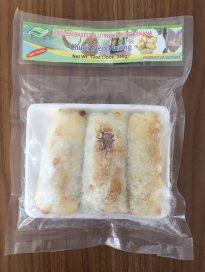 Frozen baked glutinous rice banana (Chuối Nếp Nướng)