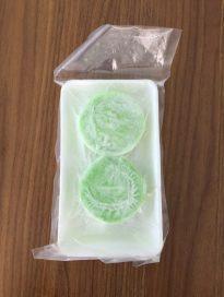 frozen cooked tapioca green bean cake (Bánh Da Lợn)