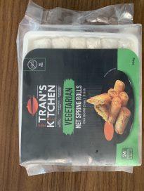Vegetarian net spring rolls