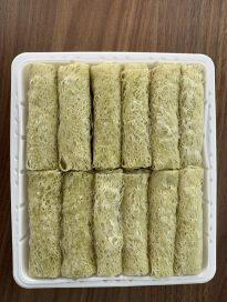 Spinach Net Spring Rolls